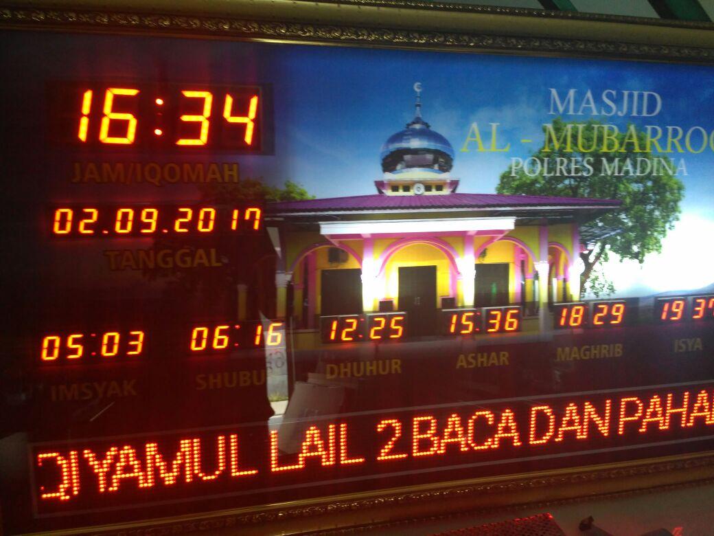 Jual Jam Digital Masjid di Medan b43f2b7e33